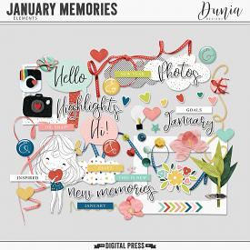 January Memories | Elements