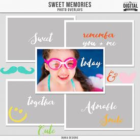 Sweet Memories - Photo Overlays