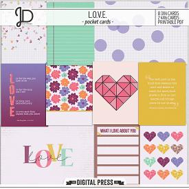 L.O.V.E. | Pocket Cards