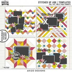 Stitched Up 06 | Templates