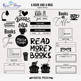 A Book And A Mug | Stamps