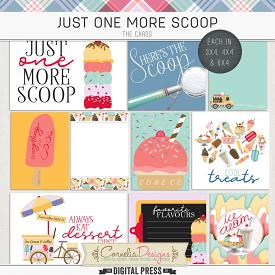 JUST ONE MORE SCOOP | POCKET CARDS