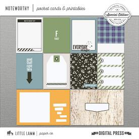 Noteworthy | Pocket Cards and Printables