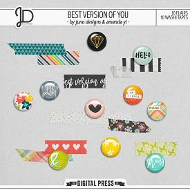 Best Version Of You | Washi & Flair