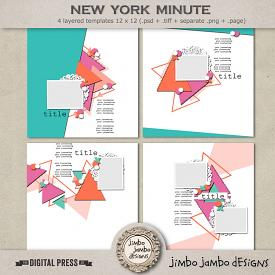 New York minute | Templates
