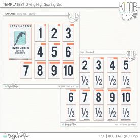 CU | Templates : Diving High Scoring Bundle