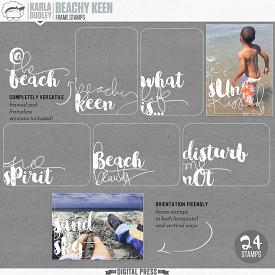 Beachy Keen | frame stamps