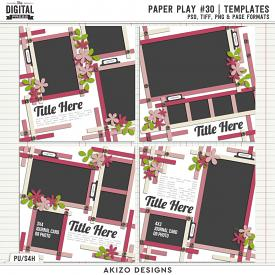 Paper Play 30 | Templates