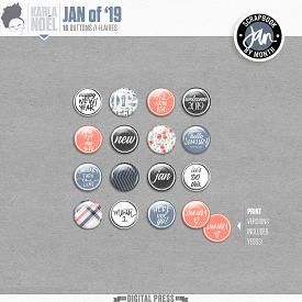 Jan of '19 | Buttons