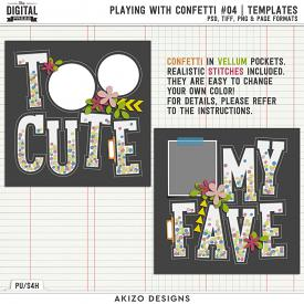 Playing With Confetti 04 | Templates