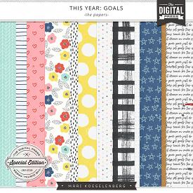 This Year: Goals | The Papers