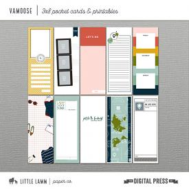 Vamoose | 3x8 Pocket Cards and Printables
