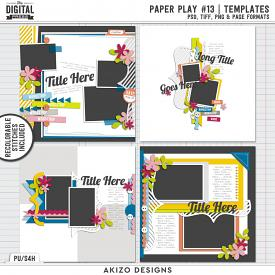 Paper Play 13 | Templates