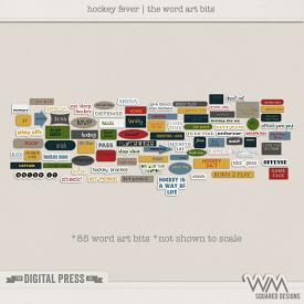 Hockey Fever | The Word Art Bits