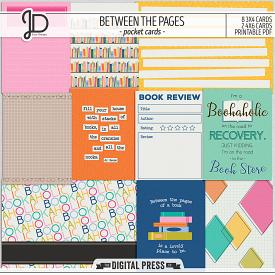Between The Pages | Pocket Cards