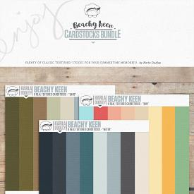 Beachy Keen | cardstocks bundle