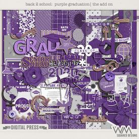Back 2 School - Purple Graduation | The Add On
