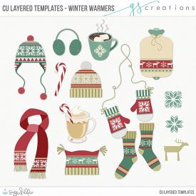 Winter Warmers Layered Templates (CU)