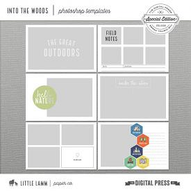 Into The Woods│Photoshop Templates