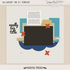 All Laid Out - Vol 13 | Template
