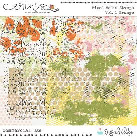 Mixed Media Stamps Vol. 1: Grunge (CU)