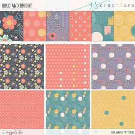 Bold and Bright Layered Patterns (CU)