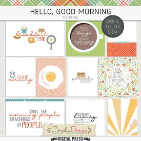 HELLO, GOOD MORNING | POCKET CARDS