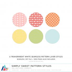 Simply Sweet Pattern Styles (CU)