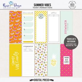Summer Vibes - Traveler's Notebook Inserts