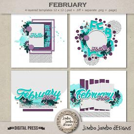 My month: February | Templates