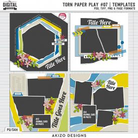 Torn Paper Play 07 | Templates