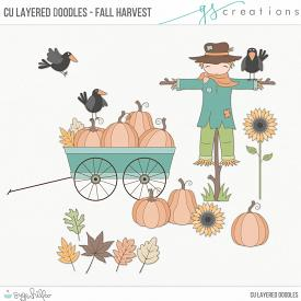 Fall Harvest Layered Doodles (CU)
