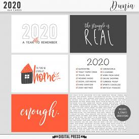 2020 | 6x4 Cards