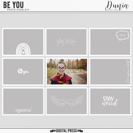 Be You | Photo Overlays