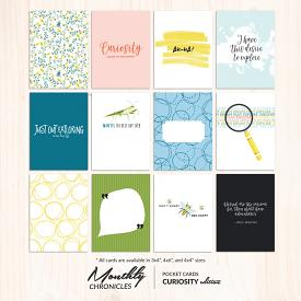 Monthly Chronicles | Curiosity Pocket Cards [SET 2]