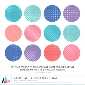 Basic Pattern Styles No.4 (CU)