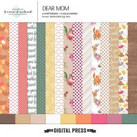 Dear Mom - Paper Pack