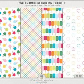 Sweet Summertime Patterns | Volume 1 (CU)