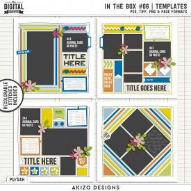 In The Box 06 | Templates