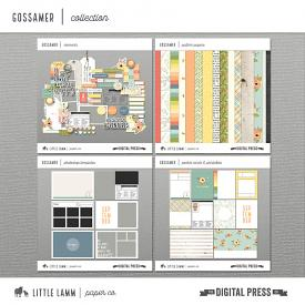 Gossamer│Scrapbook Collection