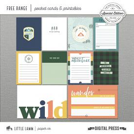 Free Range | Pocket Cards and Printables