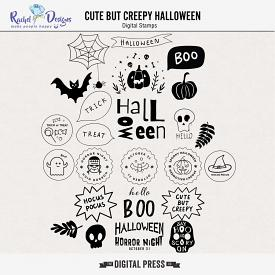 Cute But Creepy Halloween | Stamps