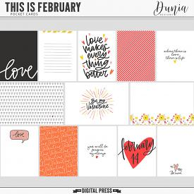This is February | Cards