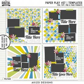 Paper Play 27 | Templates