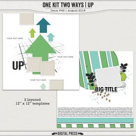 One Kit Two Ways | Up Templates