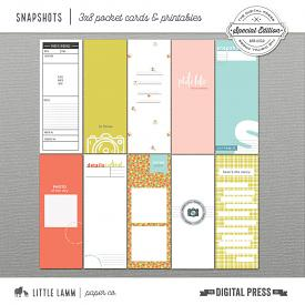 Snapshots | 3x8 Pocket Cards and Printables