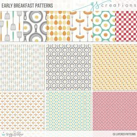 Early Breakfast Layered Patterns (CU)