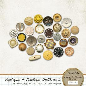 Antique & Vintage Buttons, Volume 2