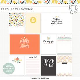Forever & A Day | Journal Cards
