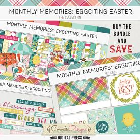 MONTHLY MEMORIES: EGGCITING EASTER| COLLECTION